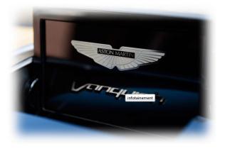 Aston Martin Vanquish - Infotainment System