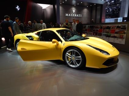 Ferrari 458 Yellow - Geneva Motorshow