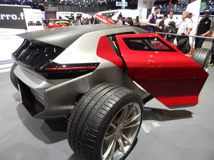 The Sbarro Mojave - Geneva Motorshow 2017