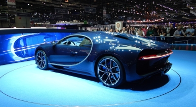 The Bugatti Chiron - Geneva Motorshow 2017