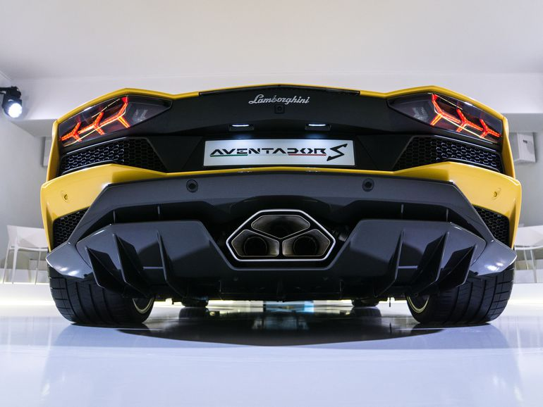 The New Aventador S From Lamborghini Bull Reborn Super Hyper Top